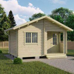 Домокомплект садового дома Мини-2 из профилированного минибруса 3.5х5.0 м