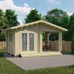 Домокомплект садового дома Мини-4 из профилированного минибруса 5.3х3.3 м