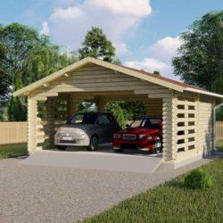 Комплект гаража Мини-7 из профилированного минибруса 6х5.5 м