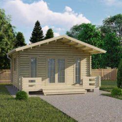 Домокомплект садового дома Мини-29 из профилированного минибруса 5,5x5,5 м