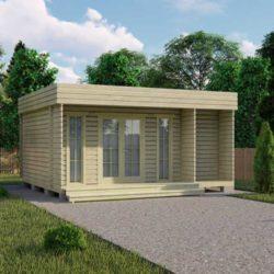 Домокомплект садового дома Мини-31 из профилированного минибруса 5x6 м