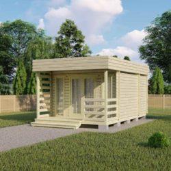 Домокомплект садового дома Мини-23 из профилированного минибруса 6x4 м