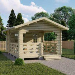 Домокомплект садового дома Мини-22 из профилированного минибруса 4x5,8 м