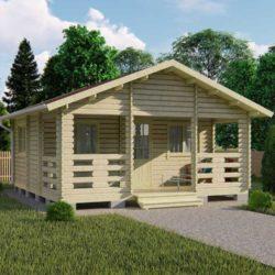 Домокомплект садового дома Мини-32 из профилированного минибруса 6x6 м