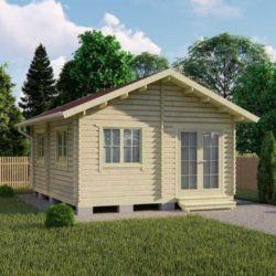 Домокомплект садового дома Мини-30 из профилированного минибруса 5x5,7 м