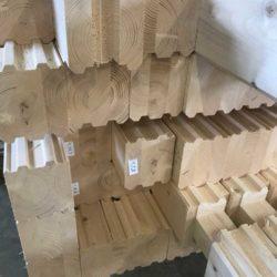 Стеновой комплект из клееного бруса