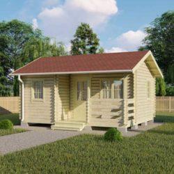 Домокомплект садового дома Мини-21 из профилированного минибруса 4,8x5,8 м