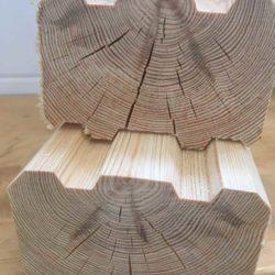Профилированный брус 100x150 (92x142) погонаж сухой (камерной сушки)